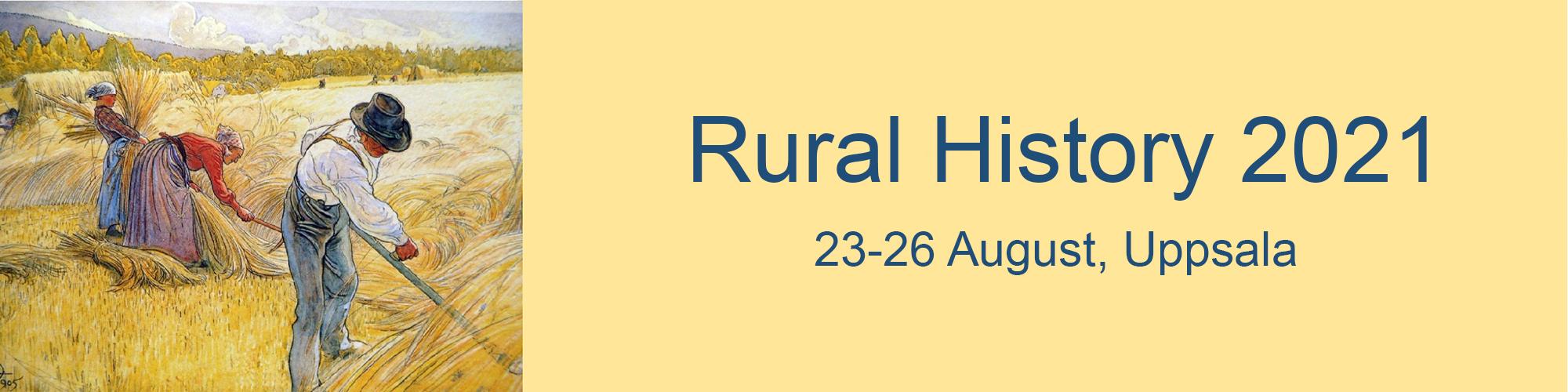 Rural History. Banner.